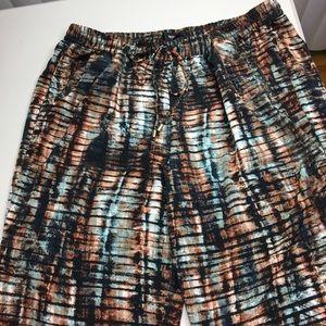 Target Silk pants 2x